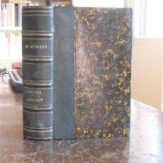 Libros antiguos: L'ECUEIL.GERFAUT.CHARLES DE BERNARD.PARIS 1861.DOS OBRAS EN UN TOMO. Lote 26087831
