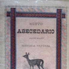 Libros antiguos: NUEVO ABECEDARIO ILUSTRADO DE HISTORIA NATURAL. ANTONIO ANGUIZ. Lote 26200338
