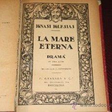 Old books - 1010- LA MARE ETERNA EDIT. F. GRANADA BARCELONA 1900 I. IGLESIAS - 26210654
