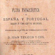 Libros antiguos: FLORA FARMACEUTICA 1871. Lote 26214951