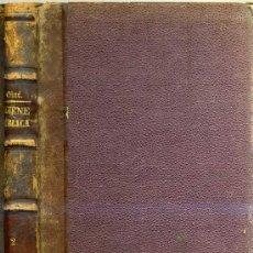 Libros antiguos: GINÉ Y PARTAGÁS : HIGIENE PÚBLICA (1872). Lote 26223320