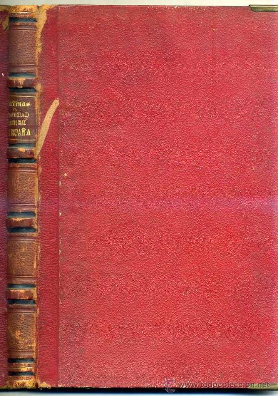 FRANCISCO DE CÁRDENAS : HISTORIA DE LA PROPIEDAD TERRITORIAL EN ESPAÑA TOMO I (1873) (Libros Antiguos, Raros y Curiosos - Pensamiento - Otros)