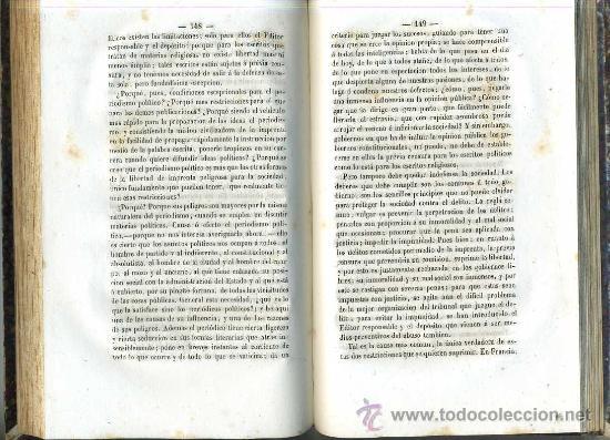 Libros antiguos: MANUEL DURÁN Y BAS : ESTUDIOS POLÍTICOS Y ECONÓMICOS (1856) - Foto 3 - 26223486