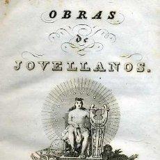 Libros antiguos: OBRAS DE JOVELLANOS TOMO VIII (1840) . Lote 26276169
