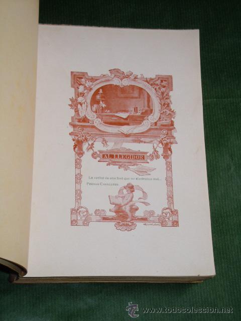 Libros antiguos: LA FABRICANTA. NOVELA DE COSTUMS BARCELONINES (1860-1875) de Dolors Monserda de Macia - (en catalan - Foto 3 - 166363388