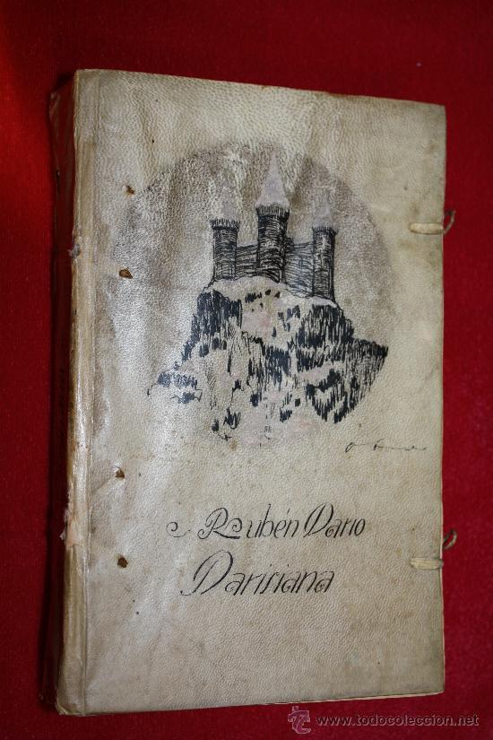 LIBRO ANTIGUO. RUBEN DARIO. PARISIANA. MADRID 1917. MUNDO LATINO EN PERGAMINO ESTAMPADO. (Libros Antiguos, Raros y Curiosos - Literatura - Otros)