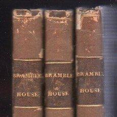 Libros antiguos: BRAMBLETYE HOUSE - 3 TOMOS. PARIS 1826. Lote 26381750