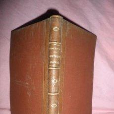 Libros antiguos: LECCIONES DE CONSTRUCCION NAVAL - D.GUSTAVO FERNANDEZ - AÑO 1892 - PLANOS ILUSTRADOS.. Lote 26384078
