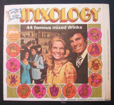 MIXOLOGY. 44 COCKTAILS FAMOSOS. 44 FAMOUS MIXED DRINKS. (Libros Antiguos, Raros y Curiosos - Cocina y Gastronomía)