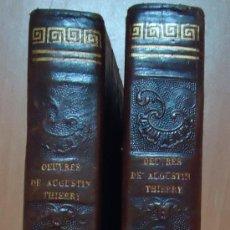 Libros antiguos: HISTOIRE DE LA CONQUÉTE DE L´ANGLETERRE PAR LES NORMANDS. AUGUSTIN THIERRY. PARIS 1846. 2 TOMOS. Lote 26413342