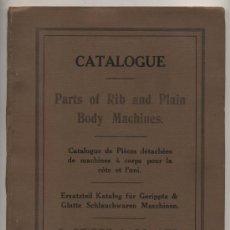 Libros antiguos: G. STIBBE & CO. LTD. CATÁOGO DE PIEZAS PARA MAQUINARIA. INTERESANTE. Lote 26415995