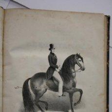 Libros antiguos: LIBRO ANTIGUO. 1858. METODO PARA EMBOCAR BIEN TODOS LOS CABALLOS Y TRATADO SUCINTO DE EQUITACIÓN.. Lote 26513634