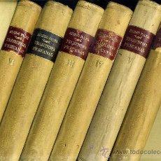 Libros antiguos: RICARDO PALMA : TRADICIONES PERUANAS - 6 TOMOS (1930). Lote 45095392