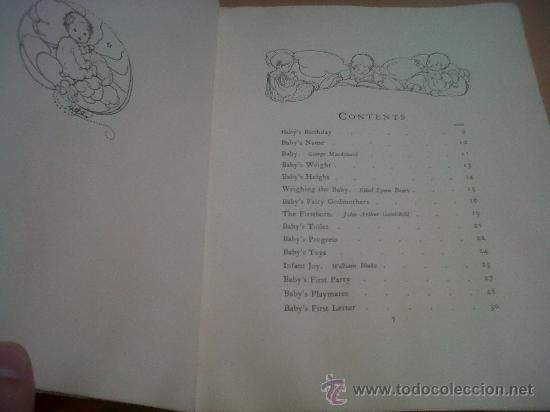 Libros antiguos: PRECIOSO LIBRO BABY´S RECORD ILUSTRACIONES ANNE ANDERSON GEORGE KARRAF & CO LONDON 1928 - Foto 4 - 26937739
