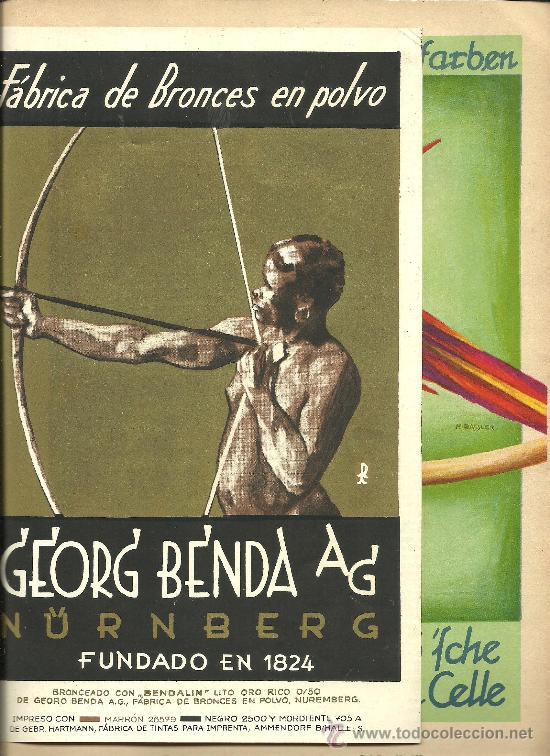 Libros antiguos: L15-16 EL TIPOGRAFO Y LITOGRAFO ALEMAN - Edicion Española de 1926 - Publicacion Anual (VER) - Foto 6 - 27077729
