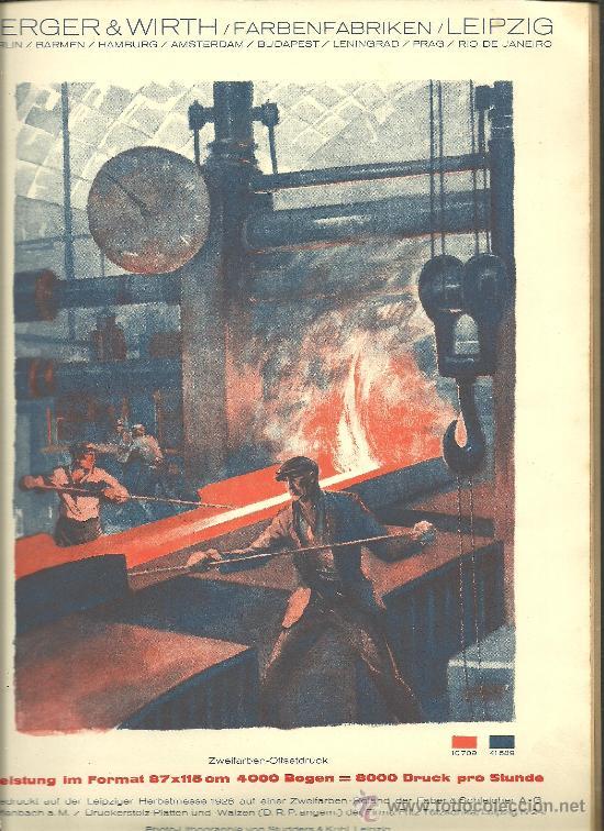 Libros antiguos: L15-16 EL TIPOGRAFO Y LITOGRAFO ALEMAN - Edicion Española de 1926 - Publicacion Anual (VER) - Foto 8 - 27077729