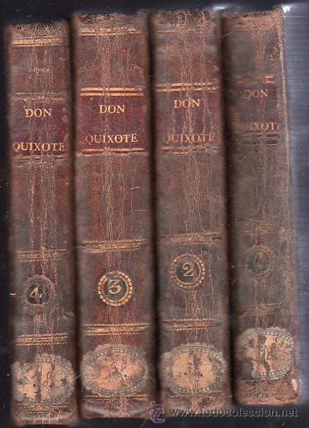 Libros antiguos: VIDA Y HECHOS DEL INGENIOSO CABALLERO DON QUIJOTE DE LA MANCHA. 4 TOMOS - MADRID 1808 - Foto 3 - 27184507