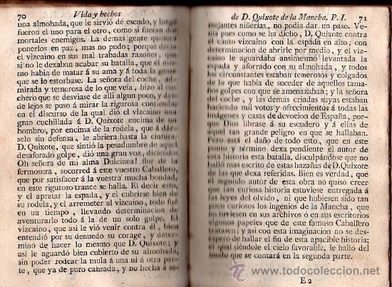 Libros antiguos: VIDA Y HECHOS DEL INGENIOSO CABALLERO DON QUIJOTE DE LA MANCHA. 4 TOMOS - MADRID 1808 - Foto 2 - 27184507