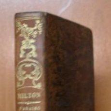 Libros antiguos: EL PARAISO PERDIDO. J. MILTON. 1849. TOMO II. ENCUADERNACIÓN EN PASTA ESPAÑOLA, CON DORADOS.. Lote 27349506