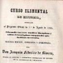 Libros antiguos: CURSO ELEMENTAL DE HISTORIA POR JOAQUIN FEDERICO DE RIVERA - IMP. D.M. APARICIO, VALLADOLID 1849. Lote 27352961
