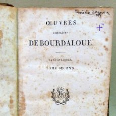 Libros antiguos: LIBRO, OEUVRES DE BOURDALOUE, TOME XIII, FRANCES, A BESANCON. Lote 27509346