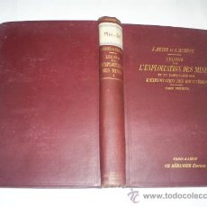 Libros antiguos: LEÇONS SUR L'EXPLOITATION DEL MINES TOME PREMIER F. HEISE, F. HERBST 1911 RM51224-V. Lote 27537623