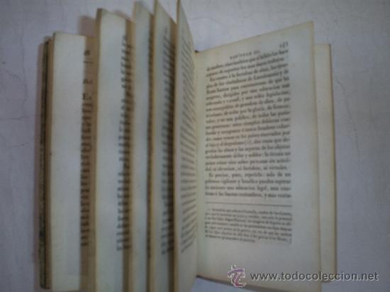 Libros antiguos: Moral Universal ó Deberes del Hombre fundados en su naturaleza Práctica de la Moral 3 1826 RM51984-V - Foto 5 - 27685947