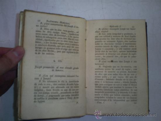 Libros antiguos: RUDIMENTOS HISTÓRICOS MÉTODO FÁCIL PARA INSTRUIRSE LA JUVENTUD NOTICIAS HISTÓRICAS 1 1789 RM51967-V - Foto 5 - 27685968