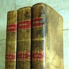 Libros antiguos: LAS SIETE PARTIDAS DEL SABIO REY D. ALFONSO EL NONO, COPIADAS DE LA EDICION DE SALAMANCA DEL AÑO. Lote 27513925