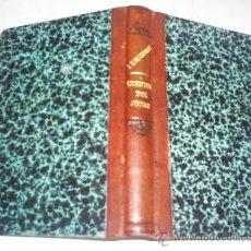 Libros antiguos: CUENTOS DEL JÚCAR JOSÉ MARÍA DE LA TORRE VALENCIA IMPRENTA P. SANCHO, 1901 RM51258. Lote 27754199