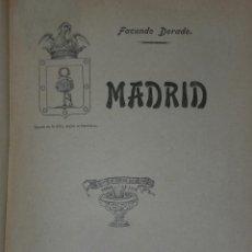 Libros antiguos: MADRID.(1907). Lote 27543214