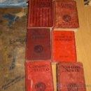 Libros antiguos: LOTE 6 NOVELAS EDITORIAL JUVENTUD. PORTES GRATIS.. Lote 27609430