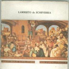 Libros antiguos: PRESENTACION DE LA UNIVERSIDAD DE SALAMANCA, LAMBERTO DE ECHEVERRIA. Lote 27654391