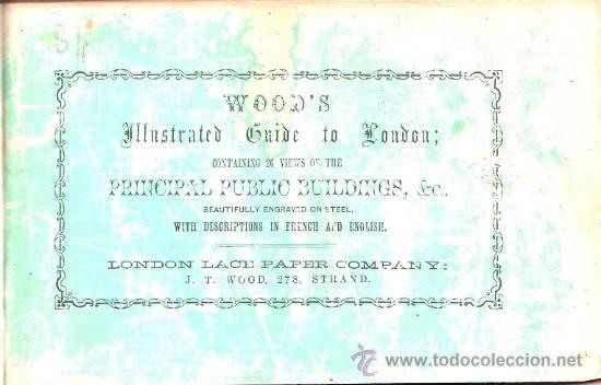LIBRO DE 1860?,GUÍA DE LONDRES,UNA MARAVILLA,GRABADOS,MUY COTIZADA,MUY RARA,GRAN PIEZA!!!! (Libros Antiguos, Raros y Curiosos - Otros Idiomas)