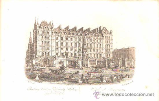 Libros antiguos: Libro de 1860?,Guía de Londres,una maravilla,grabados,muy cotizada,muy rara,gran pieza!!!! - Foto 5 - 27805861