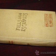 Libros antiguos: 1508- BONITO LIBRO 'FULLS ESCAMPATS' POR ENRIC DE FUENTES, AÑO 1908. Lote 27803867