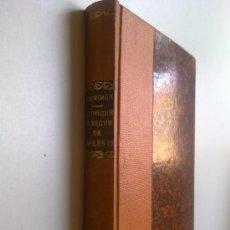 Libros antiguos: CHRONIQUE DU REGNE DE CHARLES IX, PROSPER MERIMEE, EDI.GALLIMARD 1935. Lote 27897611