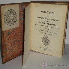 Libros antiguos: ORDENANZA DIVIDIDA EN CATORCE REGLAMENTOS QUE SE MANDA OBSERVAR EN EL REAL CUERPO DE ARTILLERIA. . Lote 27932979