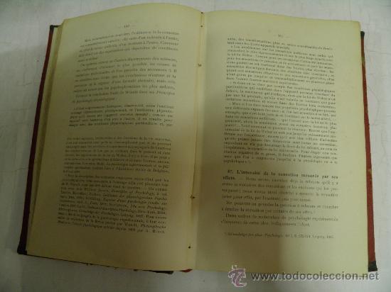 Libros antiguos: Cours de Philosophie. Volume III. Psychologie. D. MERCIER 1908 RM35385 - Foto 2 - 27935258