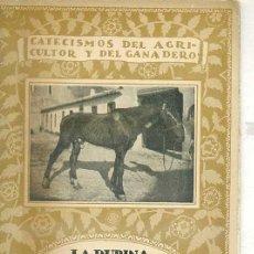 Libros antiguos: LA DURINA Y SU TRATAMIENTO (1921). Lote 27961520