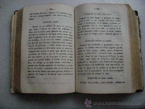 Libros antiguos: LA COCINA PERFECCIONADA O SEA EL COCINERO INSTRUIDO.MADRID 1854...013 - Foto 4 - 28000068