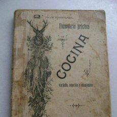 Libros antiguos: FORMULARIO PRACTICO DE COCINA.022. Lote 28005481