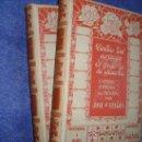 Libros antiguos: DEUDA DEL CORAZON. EL ANGEL DE LA GUARDA. CUADROS COPIADOS DEL NATURAL. 2 TOMOS.MONTANER SIMON. Lote 28226648