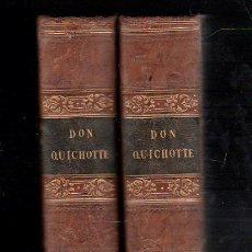 Libros antiguos: 1838,DON QUIJOTE DE LA MANCHA,EN FRANCÉS,PARÍS,GRABADITOS,DOS TOMOS,EXCEPCIONAL Y PRECIOSO,MUY RARO. Lote 28120517