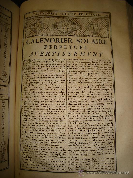 Libros antiguos: 1770,Arte de Verificar los Datos,tanto Históricos,Monumentos,París,Excepcional!!!,Gran Tamaño!!!! - Foto 4 - 28133198