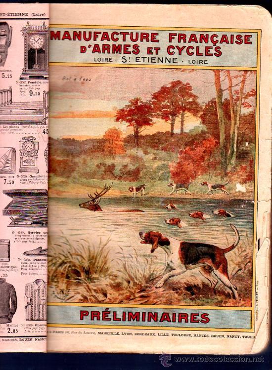 Libros antiguos: MANUFACTURE FRANÇAISE D´ARMES ET CYCLES. SAINT- ETIENNE. 1914. CATALOGO DE CICLOS DE LAS ARMAS - Foto 8 - 28150237