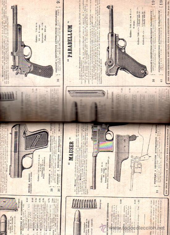 Libros antiguos: MANUFACTURE FRANÇAISE D´ARMES ET CYCLES. SAINT- ETIENNE. 1914. CATALOGO DE CICLOS DE LAS ARMAS - Foto 5 - 28150237