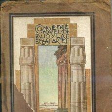 Libros antiguos: GASCÓN PORTERO : CÓMO SE ENSEÑA EL DIBUJO Y LAS BELLAS ARTES EN LA ESCUELA (1929). Lote 28161636