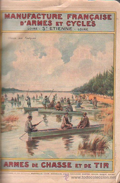 Libros antiguos: MANUFACTURE FRANÇAISE D´ARMES ET CYCLES. SAINT- ETIENNE. 1914. CATALOGO DE CICLOS DE LAS ARMAS - Foto 10 - 28150237