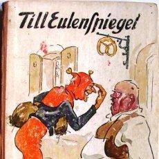 Libros antiguos: TILL EULENSPIEGELS LUSTIGE STREICHE, PAYSEN PETERSEN, G. CA 1920.. Lote 28179329